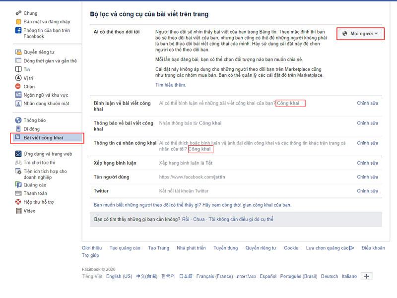 cách tăng follow facebook