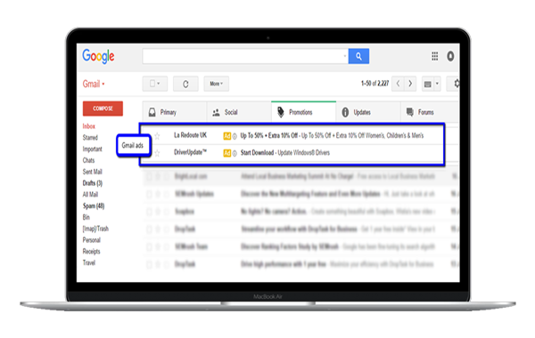 gmail ads