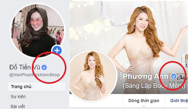 tích xanh facebook trang fanpage của THONLINE đã làm